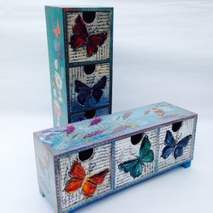 Butterfly Pewter Box Elitia Hart www.pewterart.ca