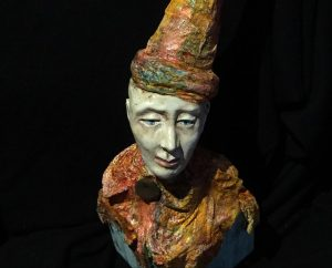 Lynn Leahy Paperclay Sculpture