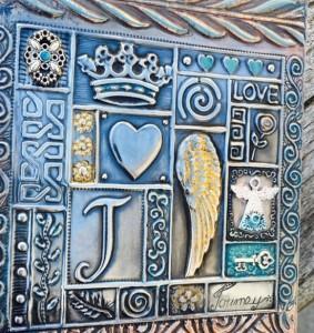 pewter plaque www.pewterart.ca